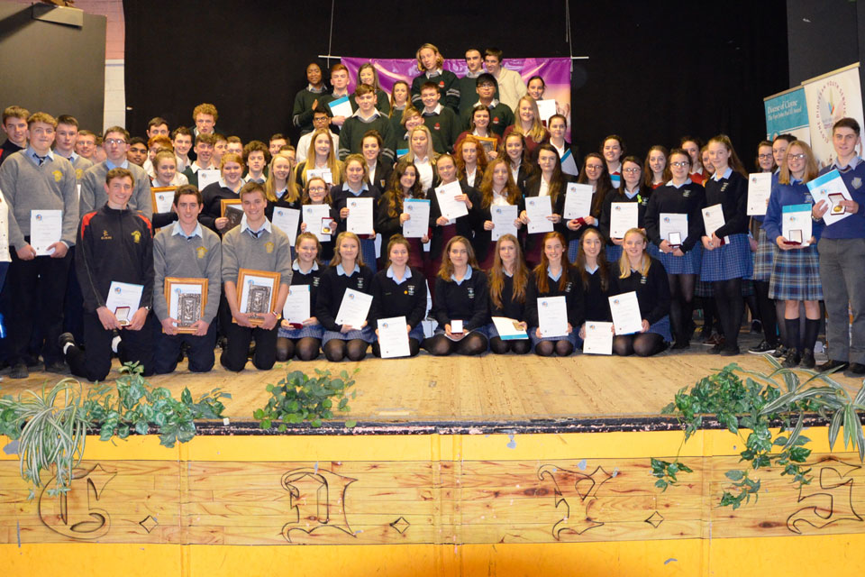 Diocese of Cloyne, 4th Annual Pope John Paul II Award ceremony 2016