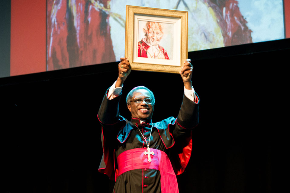 Papal Nuncio to Ireland Archbishop Jude Okolo