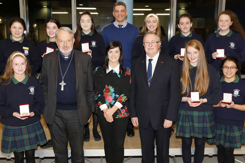 Elphin Award recipients 2018