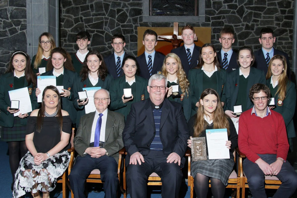 Galway, Kilmacduagh and Kilfenora Award recipients