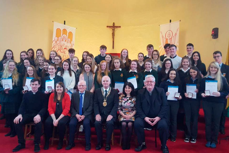 Diocese of Galway Pope John Paul II Award ceremony 2017