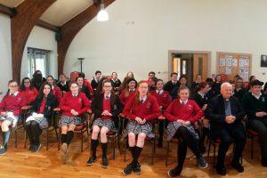 Pope John Paul 2 Award group gathering in Galway