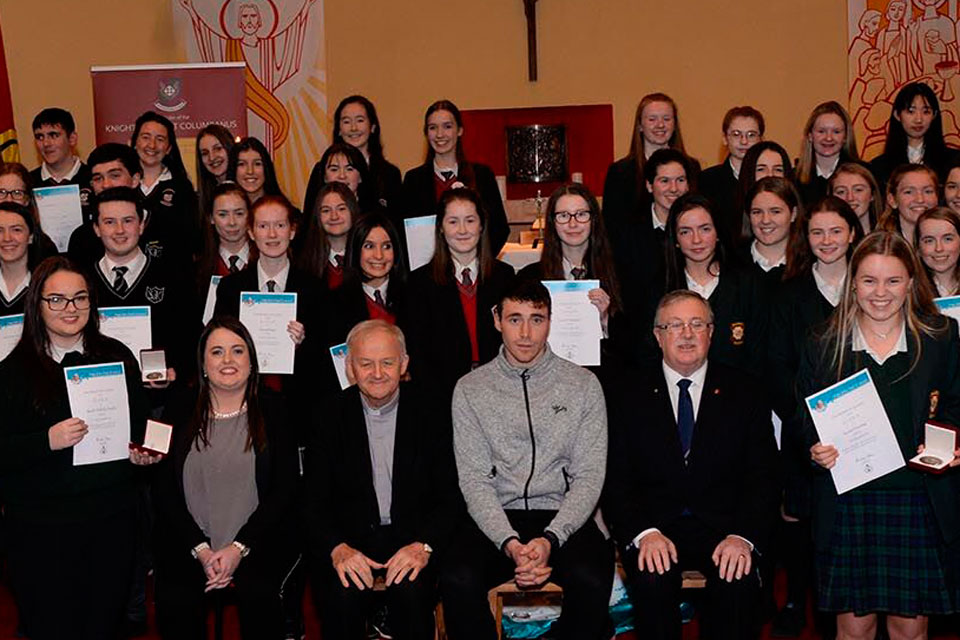 Pope John Paul 2 Award Galway 2018