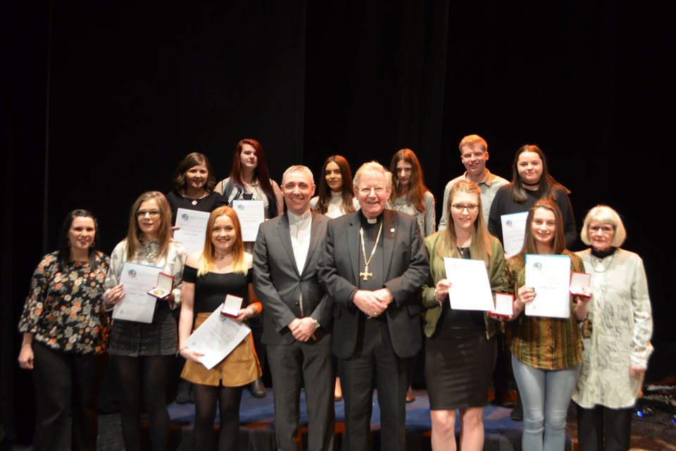 Hexham and Newcastle Award ceremony
