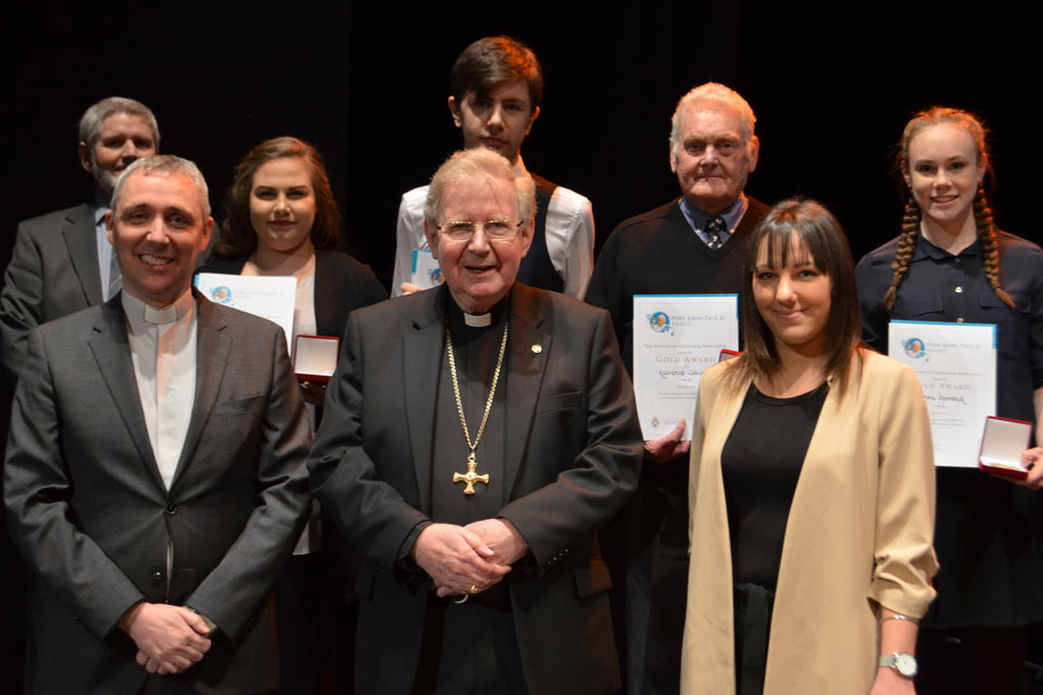 Diocese of Hexham & Newcastle, 1st Pope John Paul II Award ceremony