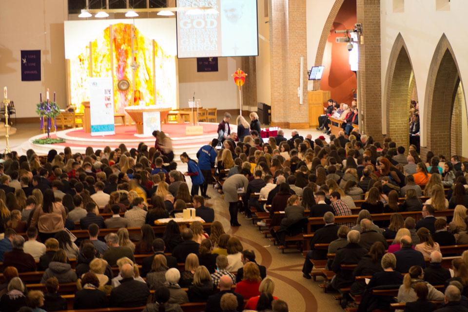 Diocese of Kildare & Leighlin Pope John Paul II Award Ceremony 2017