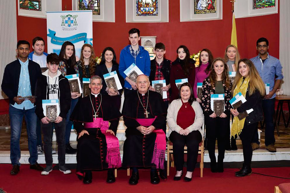 Diocese of Kilmore Annual Pope John Paul II Award ceremony 2016