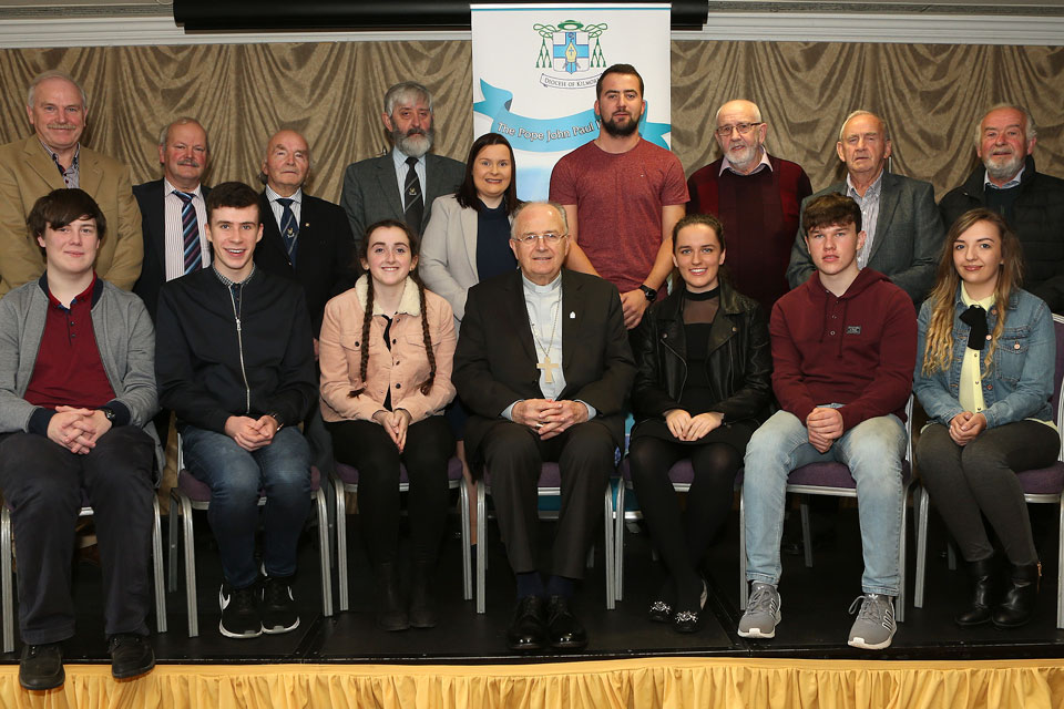Kilmore Award Ceremony 2017 - Papal Cross Award recipients