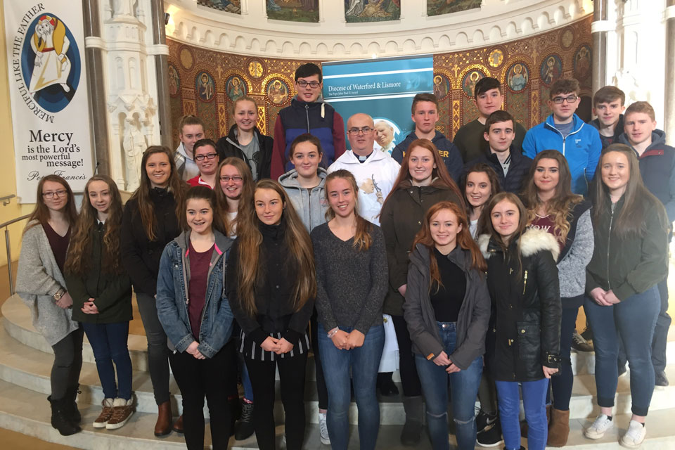 46 TY Students in Clonmel start their the JPII Award
