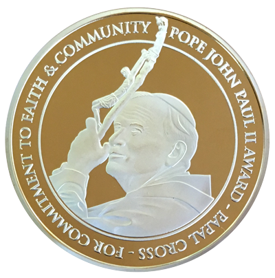 The Pope John Paul II Papal Cross Award