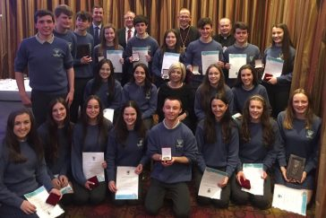 Diocese of Killaloe Annual Pope John Paul II Award ceremony 2016