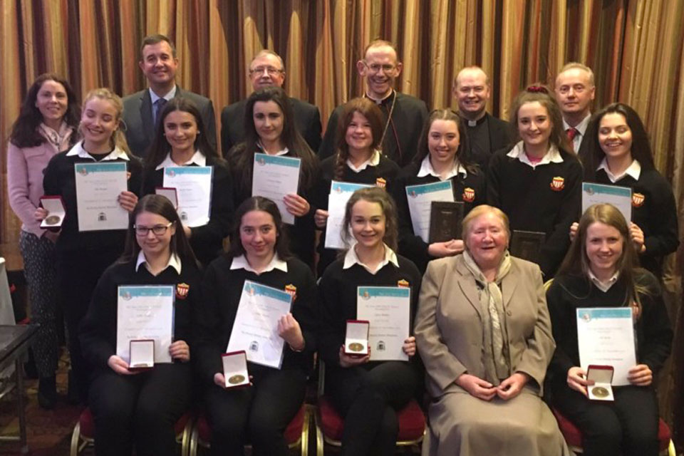 Killaloe Pope John Paul II Award ceremony 2016
