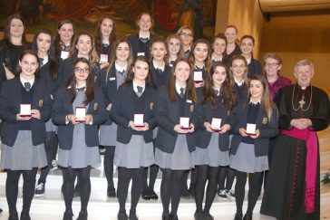 Award recipients, Convent of Mercy, Tuam, Co. Galway.