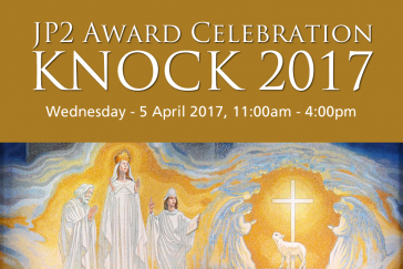 Pope John Paul II Award 10 Year Celebration at Knock Shrine