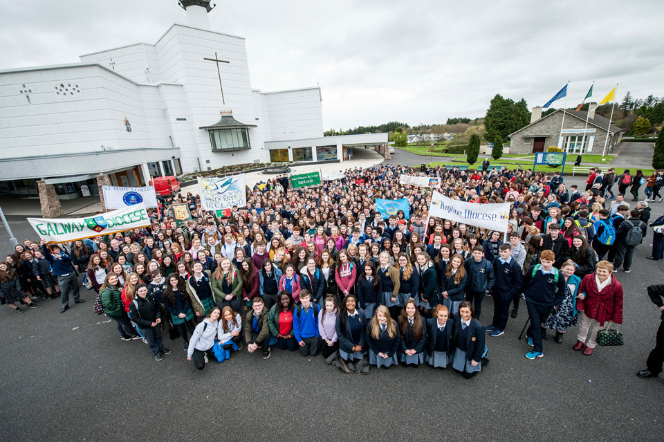 Over 1,000 attended the 10 year celebration at Knock Shrine