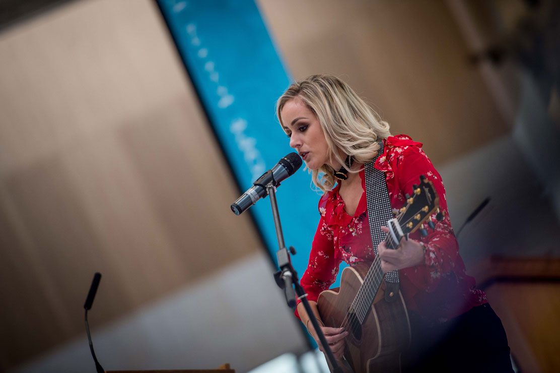 Niamh McGlinchey - guest at the 10 year celebration
