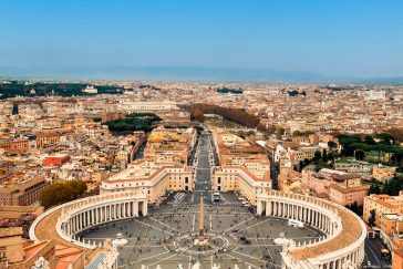 Pope John Paul II Award Pilgrimage to Rome 2017