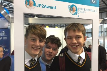 Transition year students at TY Expo 2017