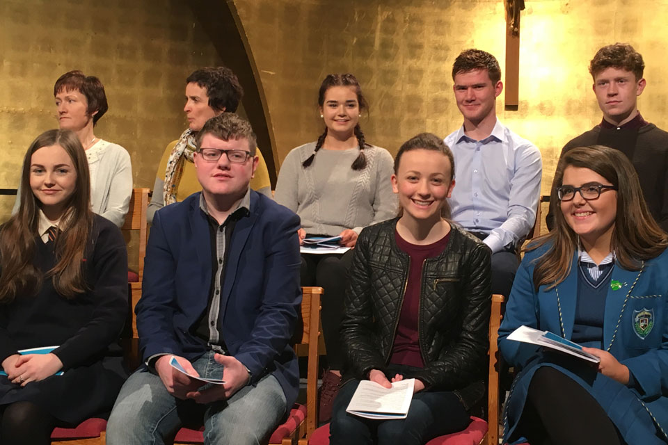 Pope John Paul II Award – RTÉ Mass on Sunday