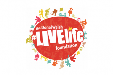 Doanl Walsh LiveLife Foundation Logo