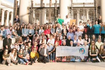 Pope John Paul II Award Pilgrimage to Rome 2017