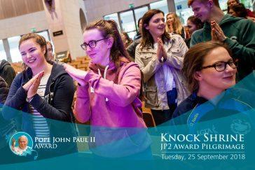 Pope John Paul II Award Pilgrimage to Knock Shrine 2018