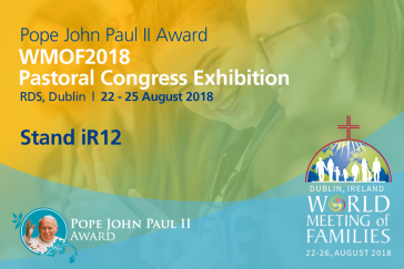 Pope John Paul II Award at the WMOF2018 Pastoral Congress (RDS)