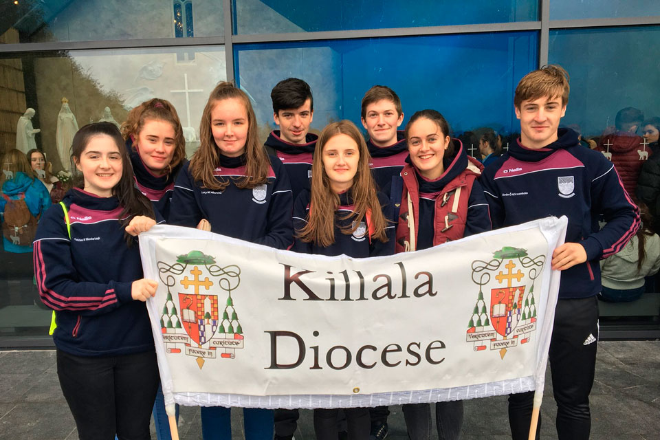 JP2 Award participants from the Diocese of Killala