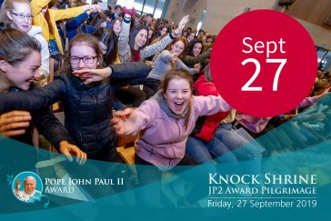 Date of pilgrimage to Knock Shrine - 27 September 2019