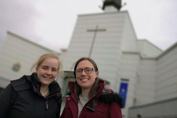 Amy & Trish at Knock Shrine