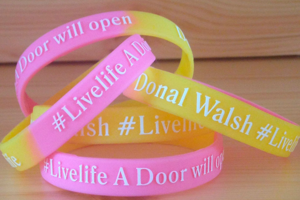 #LiveLife wrist bands